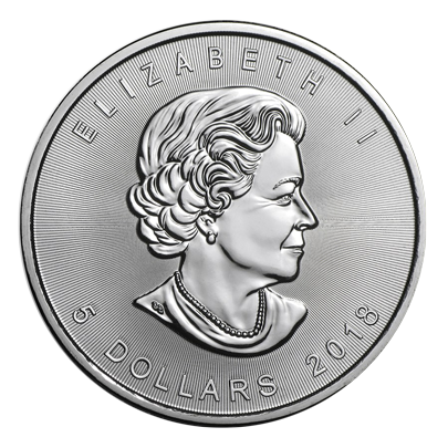 Canadian Silver Maple Leaf 2014 coin